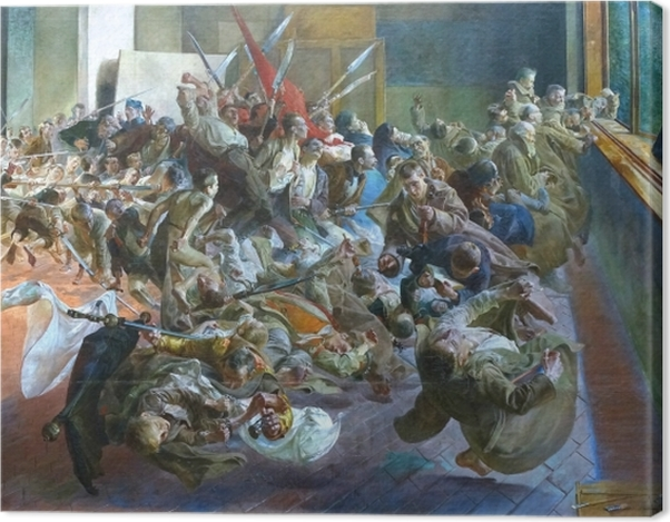 Obraz na płótnie Jacek Malczewski - Melancholia - Reproductions