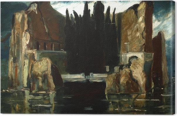 Obraz na płótnie Jacek Malczewski - Wyspa umarłych - Reproductions