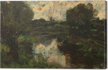 Obraz na płótnie Jacob Maris - Jezioro po burzy