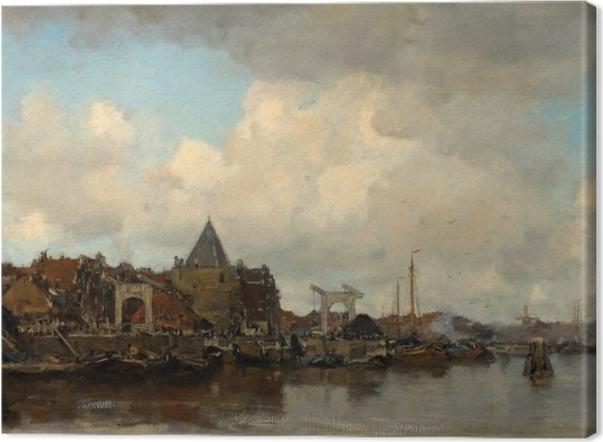 Obraz na płótnie Jacob Maris - Schreierstoren - Reproductions