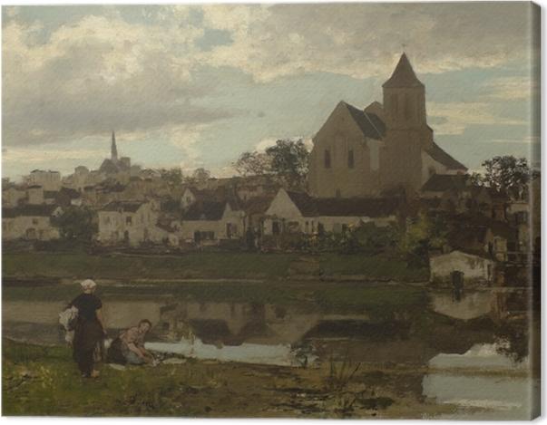 Obraz na płótnie Jacob Maris - Widok na Montigny - Reproductions