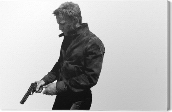 Obraz na płótnie James Bond - Nowość