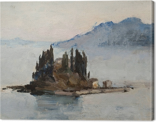 Obraz na płótnie Jan Ciągliński - Corfu. Z podróży do Grecji - Reproductions