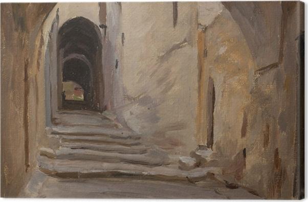Obraz na płótnie Jan Ciągliński - Jerozolima. Z podróży do Palestyny - Reproductions