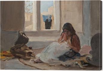 Obraz na płótnie Jan Ciągliński - Nazareth. Z podróży do Palestyny