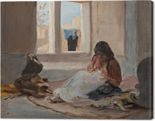 Obraz na płótnie Jan Ciągliński - Nazareth. Z podróży do Palestyny - Reproductions
