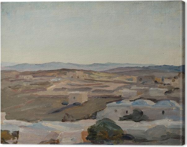 Obraz na płótnie Jan Ciągliński - Ramallah pod Jerozolimą. Z podróży do Palestyny - Reproductions
