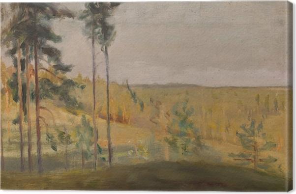 Obraz na płótnie Jan Ciągliński - Terioki - Finlandia - Reproductions
