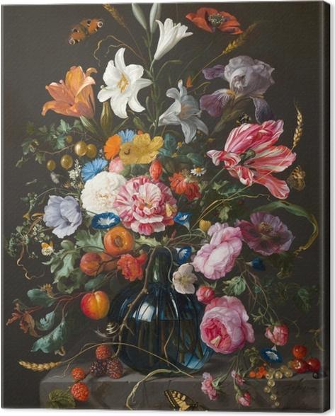 Obraz na płótnie Jan Davidsz - Vase of Flowers - Reprodukcje