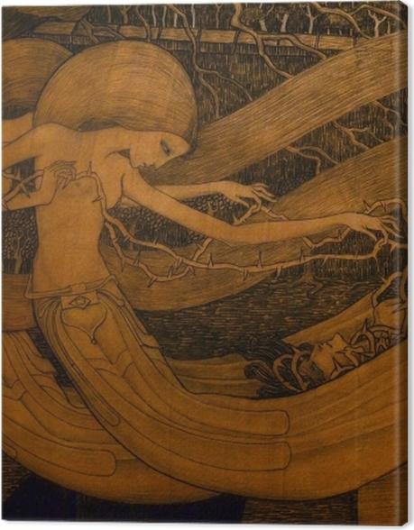 Obraz na płótnie Jan Toorop - Gdzież jest, o śmierci, twoje zwycięstwo? - Reproductions