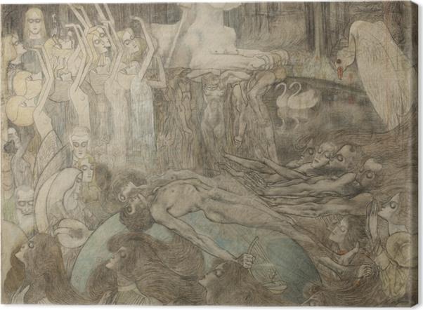 Obraz na płótnie Jan Toorop - Sfinks - Reproductions