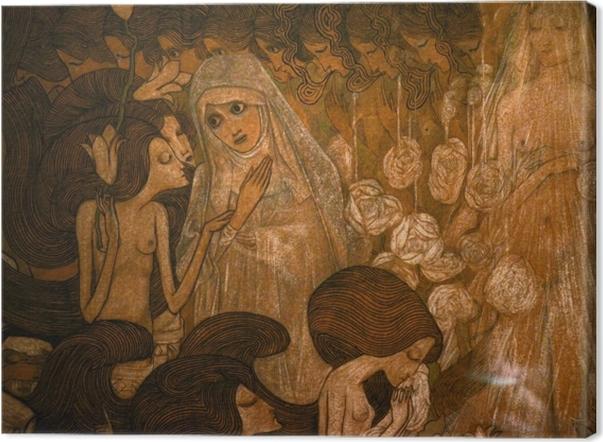 Obraz na płótnie Jan Toorop - Trzy panny młode II - Reproductions
