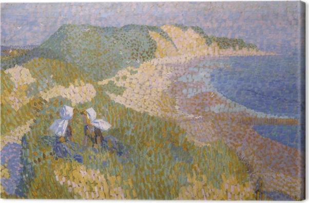 Obraz na płótnie Jan Toorop - Wydmy i morze w Zoutelande - Reproductions