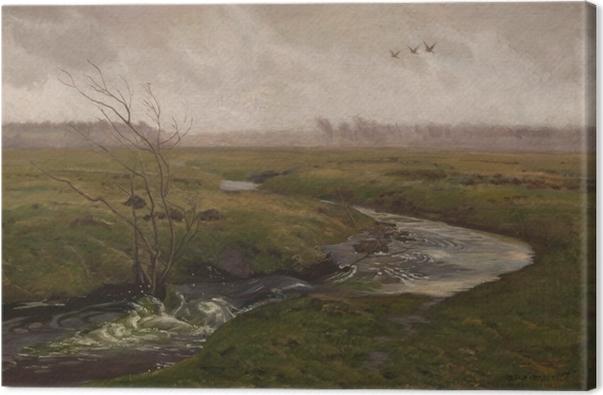Obraz na płótnie Józef Chełmoński - Wiosna - Reproductions