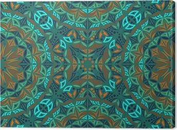 Obraz na płótnie Kaleidoscope. Wektor bez szwu tła