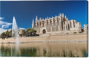 Obraz na płótnie Katedra w Palma de Mallorca