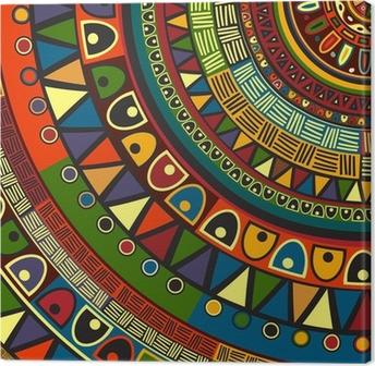 Obraz na płótnie Kolorowe plemiennych projektu