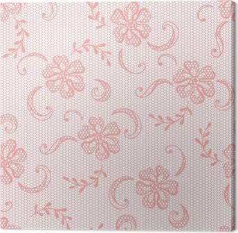 5ca56119275b2b Obraz na płótnie Lace Vintage tło, ozdobne kwiaty. wektora tekstury.
