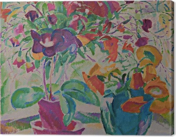 Obraz na płótnie Leo Gestel - Bukiet w oknie - Reproductions