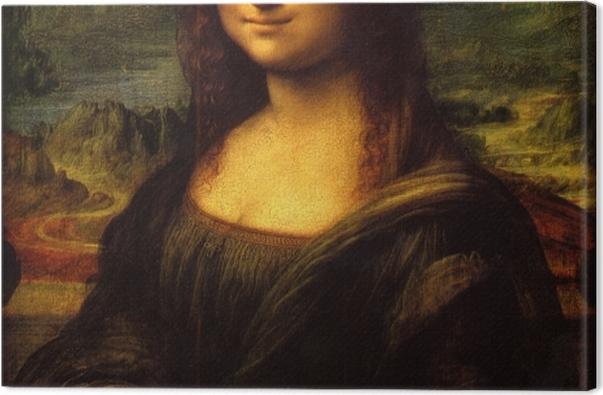 Obraz na płótnie Leonardo da Vinci - Mona Lisa - Reprodukcje