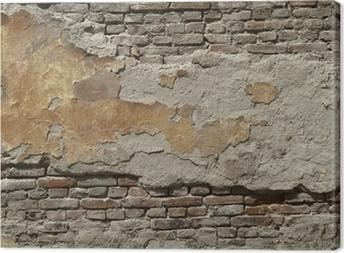 Obraz na płótnie Malowane stary mur