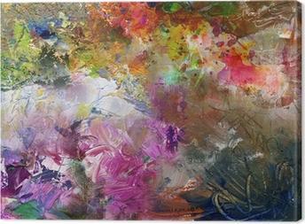 Obraz na płótnie Malowanie tekstur Highres