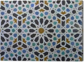 Obraz na płótnie Marokański zellige wzór płytki