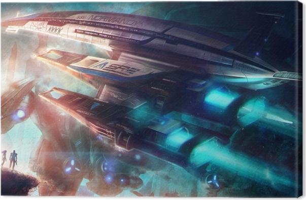 Obraz na płótnie Mass Effect - Tematy