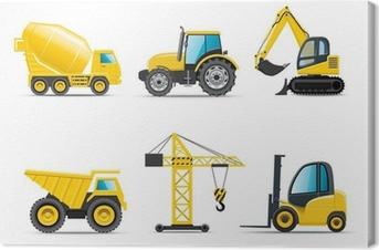 Obraz na płótnie Maszyn budowlanych | Bella serii