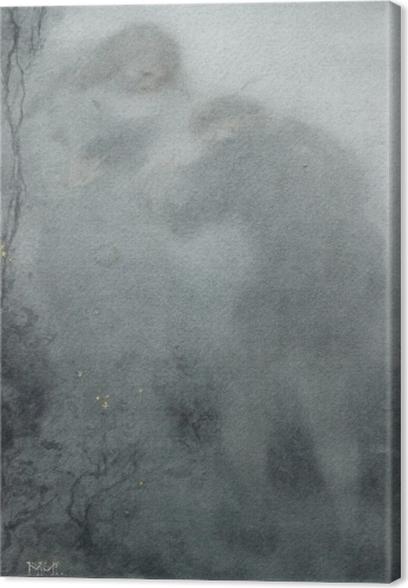 Obraz na płótnie Matthijs Maris - Postaci w lesie - Reproductions