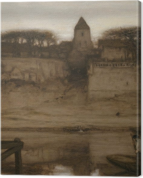 Obraz na płótnie Matthijs Maris - Saint-Ouen - Reproductions