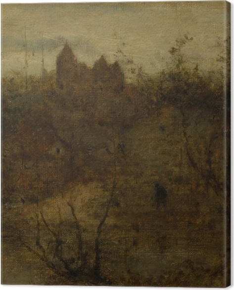 Obraz na płótnie Matthijs Maris - Zaczarowany zamek - Reproductions