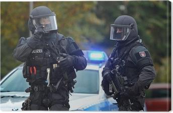 Obraz na płótnie MEK SEC Task Force specjalna jednostka policji Hamburg
