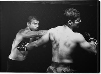 Obraz na płótnie MMA - Mixed Martial artyści walczyć - wykrawania