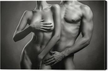 Obraz na płótnie Nagie sensual para