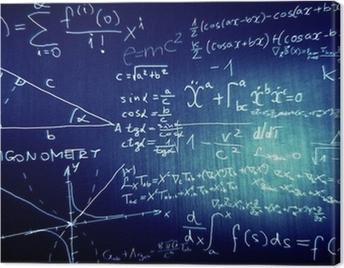 Obraz na płótnie Nauka Matematyka Fizyka Ilustracja