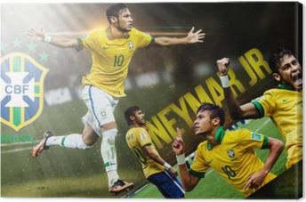 Obraz na płótnie Neymar