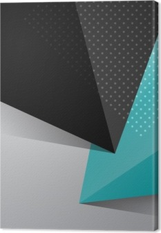 Obraz na płótnie Niebieski i czarny abstrakcyjny wzór tła