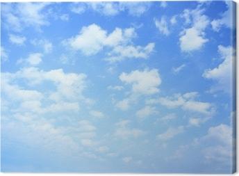 Obraz na płótnie Niebo i chmury