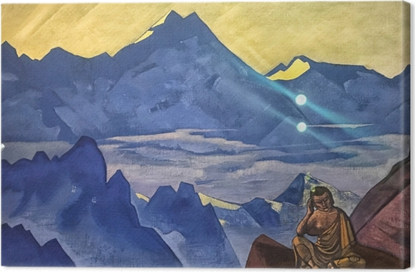 Obraz na płótnie Nikołaj Roerich - Budda - Nicholas Roerich