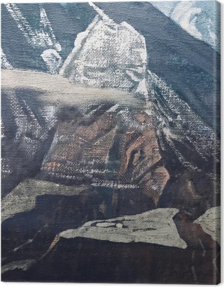Obraz na płótnie Nikołaj Roerich - Himalaje - Nicholas Roerich
