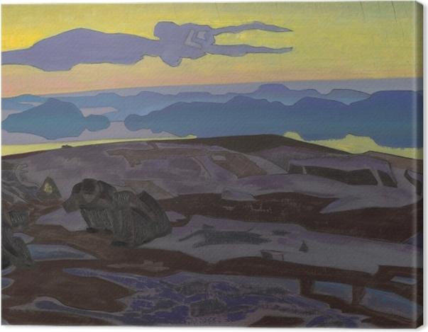 Obraz na płótnie Nikołaj Roerich - Werdykt - Nicholas Roerich