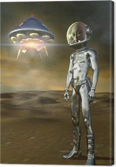 Obraz na płótnie Obcych i ufo