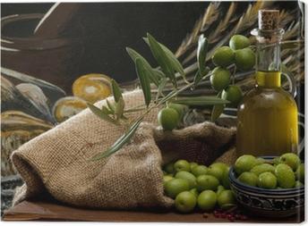 Obraz na płótnie Oliwek i oliwy