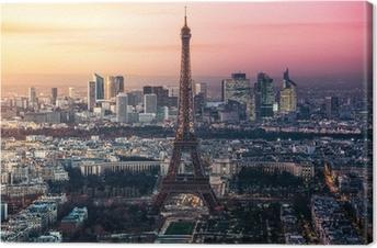 Obraz na płótnie Paryż