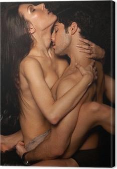 Obraz na płótnie Passionate Erotic Sex