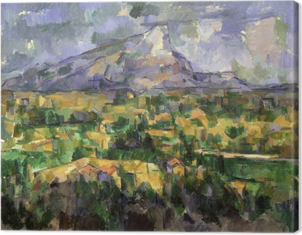 Obraz na płótnie Paul Cézanne - Góra Sainte-Victoire - Reprodukcje