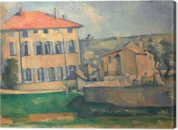 Obraz na płótnie Paul Cézanne - Jas de Bouffan - Reprodukcje