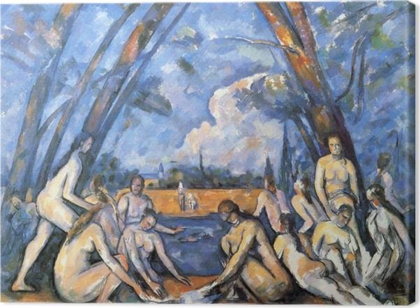Obraz na płótnie Paul Cézanne - Kąpiące się - Reprodukcje