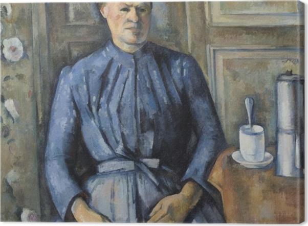Obraz na płótnie Paul Cézanne - Kobieta z dzbankiem kawy - Reprodukcje